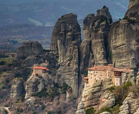 One-day excursion to Meteora